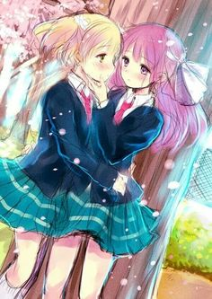PLEASE READ!!! Sakura trick. -- 1: How is the Anime/manga? Does anyone know? And 2: Should I Do fanart of those two? This Picture?