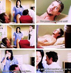 Greys Anatomy Funny, Grays Anatomy Tv, Grey Anatomy Quotes, Grey's Anatomy, Best Tv Shows, Best Shows Ever, Favorite Tv Shows, Funny People Quotes, Funny Quotes