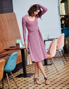 Silvia Dress WW122 Smart Day at Boden
