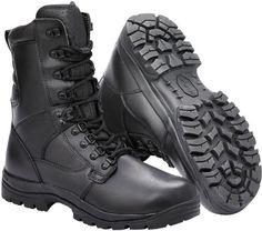 MAGNUM Chaussures montantes imperméables en cuir Elite II Unisexe, Noir, 46