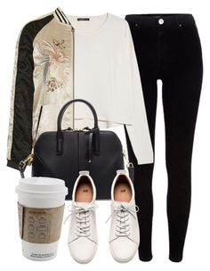 """""""Untitled #5174"""" by laurenmboot ❤ liked on Polyvore featuring River Island, MANGO, Topshop, Zara, H&M, women's clothing, women, female, woman and misses"""