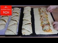 Με αυτήν τη συνταγή, ο καθένας μπορεί εύκολα να φτιάξει σφολιάτα χωρίς να χρησιμοποιεί έτοιμη ζύμη. - YouTube Baked Chicken Recipes, Veg Recipes, Turkish Recipes, Ethnic Recipes, Pie Crust Designs, Bread Bun, Savoury Dishes, Appetizer Recipes, Quiche