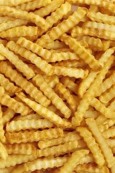 Photographic Print: Crinkle Cut French Fries (Full Frame) by Foodcollection : Crinkle Fries, Comida Pizza, Food Wallpaper, Aesthetic Food, French Fries, Food Cravings, I Love Food, Food Photography, Food Porn