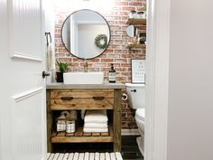 The mesmerizing Diy Rustic Bathroom Vanity Sammy On State Intended For The Diy Rustic Bathroom Vanity photograph below, is part … Round Bathroom Rugs, Diy Bathroom Vanity, Rustic Bathroom Vanities, Rustic Bathroom Decor, Modern Farmhouse Bathroom, Rustic Bathrooms, Bathroom Ideas, Small Bathrooms, Bathroom Layout