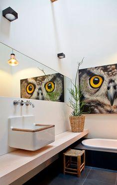 Very clean bathroom design Tiny Bathrooms, Amazing Bathrooms, Modern Bathroom, Bright Homes, Eclectic Design, Foto Art, Bathroom Renos, Bathroom Interior Design, Bathroom Inspiration