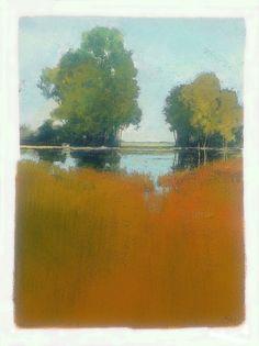 Greg Hargreaves - Late Summer Pond