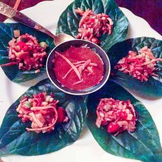 BETEL LEAF WRAPS AT UNCLE BOON'S (NYC) Unable to find any passable Thai food in Atlanta, I knew our trip to NYC had to include a few stops to get our fish sauce fix.AtUncle Boon's, betelleaves are filled with an outrageously flavorful and textured mix of ginger, lime, toasted coconut, dried shrimp,chilesand peanuts resulting in a roller coaster of tastes to keep your palette entertained. Perfection!   rootandrevel.com