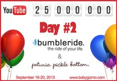 @Baby Gizmo is doing Day #2 of their giveaway!  Today is Bumbleride & Petunia Pickle Bottom!  Enter in the link!