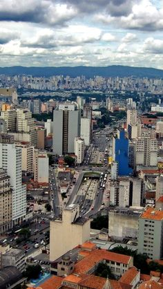 Sao Paolo Skyline, Brazil