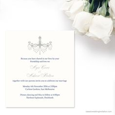 Aye & Andrew Invitation - Classic Wedding Invitations