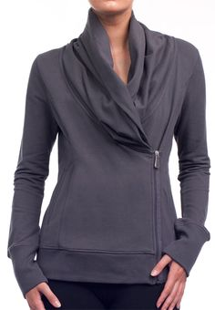 $89. Alo Activewear   Alo Sportwear   Alo Activewear Assymetrical Jacket