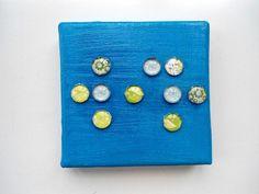 JuniWelle, Braille No.3, KC16, Blindenschrift von KunstKaufRauschArtig auf DaWanda.com