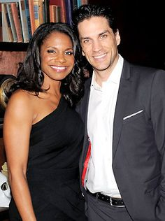 Audra McDonald and her husband