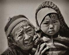 Woman of Nepal 3# by Yvette Depaepe
