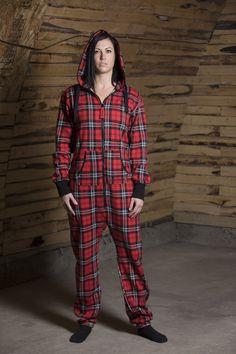 ▪️ CANADIAN PLAID ▪️ Parachute Pants, Onesies, Jumpsuit, Plaid, Unisex, Classic, Collection, Tops, Fashion