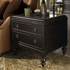 Tommy Bahama Home Kingstown Nelson End Table & Reviews | Wayfair
