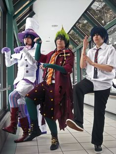 Blue Exorcist Cosplay Read and Discuss Blue Exrocist at MangaGrounds.net