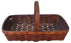 One Kings Lane - Style Guide - 19th-C. Vegetable Basket From Vermont