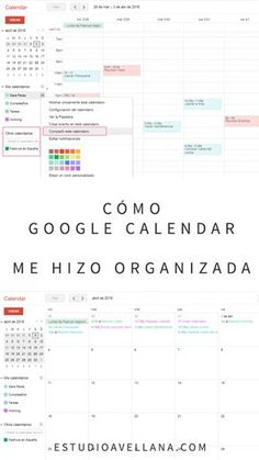Discover recipes, home ideas, style inspiration and other ideas to try. Google Calendar, Planner Diario, Agenda Organization, School Hacks, Study Motivation, Study Tips, Time Management, Project Management, Journal Inspiration
