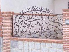 1000 images about herrer a on pinterest brick fence - Rejas de hierro forjado ...