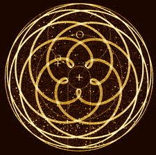 Venus orbit when viewed from the earth appears to be a pentagram, depicted here as the rose of venus.   heartmala.com