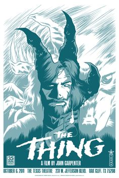 The Thing (1982) fanmade poster