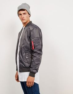 Bomber Jackets - Coats & Jackets - NEW COLLECTION - MAN - Bershka Macedonia