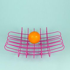 GRID wire fruit bowl - by Bendo Products