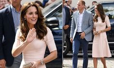 9/1/16*Kate and William, both 34, began their away day to Cornwall with a visit to Truro Cathedral to support their appeal for a new roof.