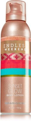 Give your skin a endless summer glow that will last all weekend. #PerfectSummer #EndlessWeekend #BathandBodyWorks @Bath & Body Works