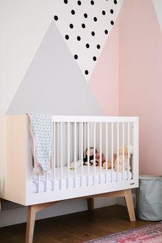 Baby Room Diy, Baby Boy Room Decor, Baby Room Design, Baby Bedroom, Girl Room, Girls Bedroom, Kid Bedrooms, Nursery Design, Room Wall Painting