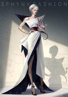The Big Boss, Sphynx, Fashion Show, Character Design, Challenges, Artwork, Pictures, Dresses, Photos