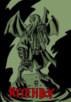 Cantinho do Caio: R'Lyeh Boy