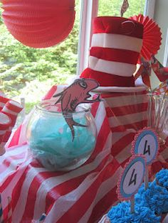 Little Birdie Secrets: cat in the hat party