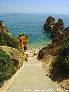 Praia do Camilo, Algarve  - Portugal | Flickr - Photo Sharing!