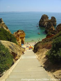 Steps to the beach ,Camilo beach , Algarve  - Portugal .