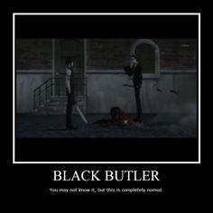 Demotivational Posters of Black Butler