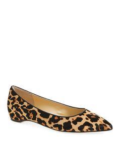 Pointy Leopard Flat