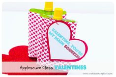 Main Squeeze Class Valentines (Free Printable)