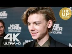 Thomas Brodie-Sangster interview at Maze Runner: The Death Cure premiere - YouTube