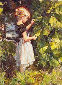 Albin Veselka - Alone in the garden