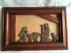 A personal favorite from my Etsy shop https://www.etsy.com/listing/466345546/3-d-manger-scene-shadow-box-picture