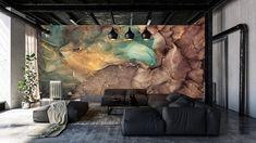 3D Wallpaper  Marble wallpaper  Marble Wall Mural Marble | Etsy