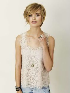 Short Hairstyles For Cute Teenager Girls