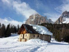 Cortina d'Ampezzo Dolomiti Tofana di Rozes Tofanina slope