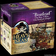 mybeerbuzz.com - Bringing Good Beers & Good People Together...: Heavy Seas Boatload IPA Sample Pack Coming In Nov