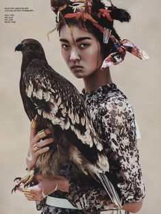 Golden Edge | Vogue Korea August 2014 | So Young Kang by Young Jun Kim [Editorial]