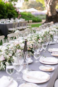 Event Design: Julia Lake Parties - julialake.com Floral Design: Julia Lake Parties! - http://www.stylemepretty.com/portfolio/julia-lake-parties Event Planning: Yong Suk Events - http://www.stylemepretty.com/portfolio/yong-suk-events   Read More on SMP: http://www.stylemepretty.com/california-weddings/2016/04/18/family-florals-make-this-napa-valley-wedding-a-winner/