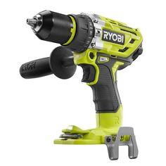 New Ryobi One + 18 Volt Brushless 2 Speed Hammer Drill Driver Ryobi Tools, Driver Tool, Drill Driver, Pole Barn Garage, Cone Drills, Electrical Tools, Hammer Drill, Intelligent Design