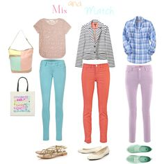 Mix and Match, created by jenncabrera on Polyvore